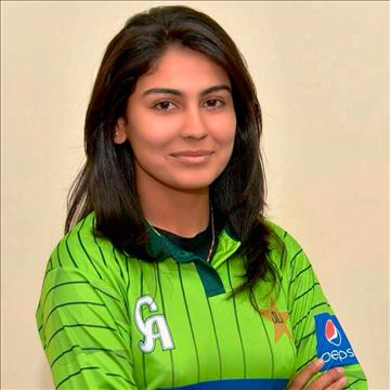 SPOTLIGHT: Graduate of Aga Khan Higher Secondary School, Karachi represents Pakistan at the International Cricket Women's World Cup