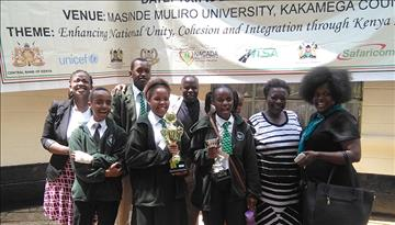 Aga Khan High School, Nairobi (AKHS, N) Student Shines at the Kenya Music Festival