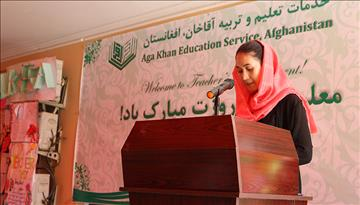 Paving the Way to a Brighter Future: The First Female IELTS Teacher at AKES Afghanistan
