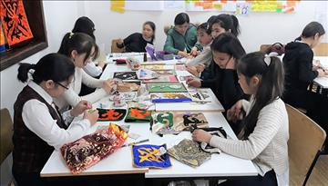 Kyrgyz Folklore and History and Crafts come together